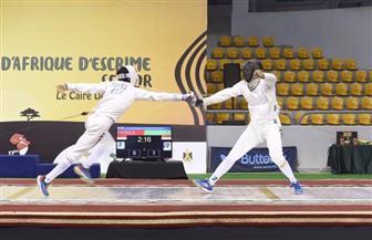 مصر تحصد 20 ميدالية منهم 4 ذهبيات ببطولة إفريقيا للسلاح
