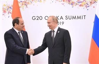 بسام راضي: الرئيسان السيسي وبوتين يؤكدان الأهمية البالغة لاستعادة دور مؤسسات الدولة في ليبيا