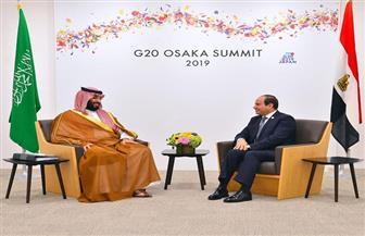 تفاصيل لقاء الرئيس السيسي مع الأمير محمد بن سلمان على هامش قمة العشرين   صور
