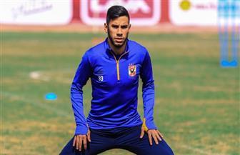 ناصر ماهر يتعافى من نزلة البرد ويشارك في تدريبات الأهلي