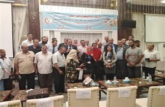 مؤتمر الاستزراع السمكي يطالب بعدم استعمال الأدوية مجهولة المصدر|  صور