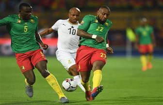 التعادل السلبي يحكم الشوط الأول من مباراة الكاميرون وغانا