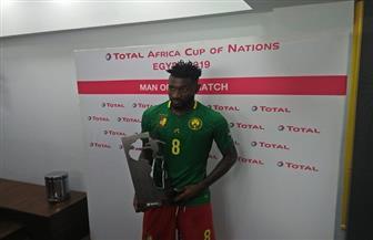 أنجوسيا أفضل لاعب في قمة الكاميرون وغانا