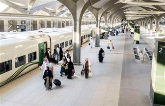 قطار الحرمين ينقل 50 ألف حاج خلال موسم الحج بين مكة والمدينة للمرة الأولى