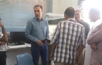 وكيل صحة الأقصر يزور مركز ومدينة أرمنت ومستشفى الحميات | صور