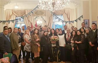 سفيرة مصر في أوسلو تستعرض سبل تطوير التعاون بين مصر والنرويج