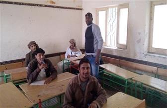 محو أمية مطروح: تسليم شهادات نجاح وامتحانات فورية  لـ85 متقدما في مدينة الحمام