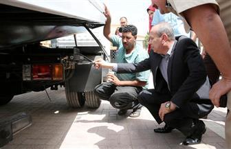 محافظ كفرالشيخ يشهد تسليم سيارة إغاثة وونش طبلية و4 سيارات للمرور | صور