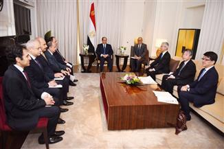 الرئيس السيسي: مصر تمتلك الإمكانات اللازمة لتمثل محورا هاما للصناعات اليابانية المشهود لها بالكفاءة  صور