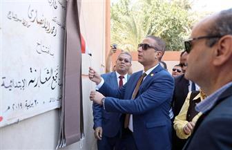 في ذكرى ثورة 30 يونيو.. محافظ سوهاج يفتتح مدرسة ابتدائية في نجع الشعارنة | صور