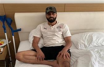 جنش يعود للقاهرة بعد إجراء جراحة وتر أكيلس