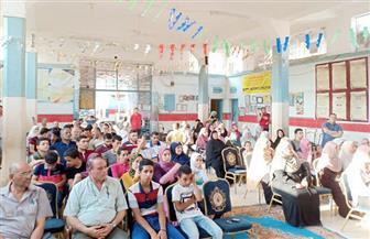 لقاء تثقيفي ومحكى فني لشباب الغربية بمناسبة ذكرى ثورة 30 يونيو| صور