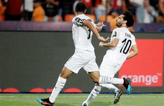 أمم إفريقيا.. صلاح والمحمدي يسجلان هدفي مصر أمام أوغندا في الشوط الأول
