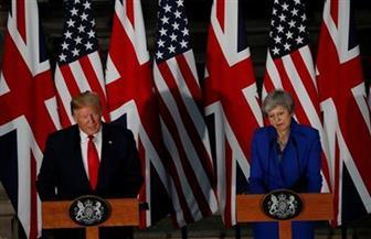 ماي: نواجه مع واشنطن تحديات متشابهة.. وترامب: نشكر بريطانيا لمساعدتنا في المعركة ضد داعش