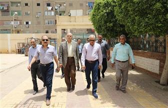 محافظ الجيزة يتفقد ساحات صلاة العيد بـ 8 أحياء | صور