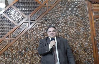 على الهواء مباشرة من مسجد السيدة نفيسة.. الإذاعة المصرية البرنامج العام القرآن الكريم يحتفلون بحلول عيد الفطر