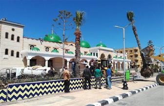 حدائق كفر الشيخ مستعدة لاستقبال المواطنين في العيد وتوقعات بزيارة مليون مصطاف بلطيم | صور