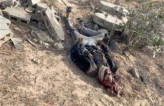 الداخلية: استشهاد ضابط وأمين شرطة و6 مجندين ومقتل 5 إرهابيين خلال التصدي لهجوم إرهابي بالعريش صور