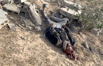 أبطال كمين العريش يتصدون لمحاولة أحد العناصر الإرهابية تفجير نفسه بحزام ناسف