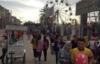 مدير حدائق غرب المنصورة: استقبلنا ٧ آلاف زائر خلال أول أيام عيد الفطر | صور