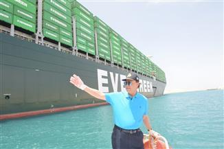 عبور 52 سفينة قناة السويس بحمولة 4 ملايين طن