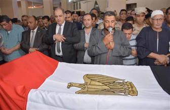 محافظ الغربية يتقدم جنازة شهيدي الواجب بسيناء | صور