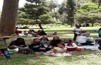 حديقة الأورمان تستقبل المواطنين في ثاني أيام العيد|صور