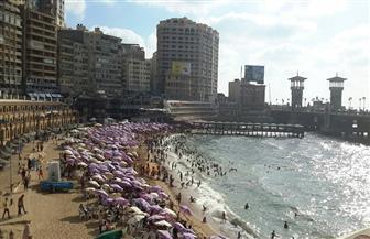"""تحرير مخالفات لـ3 شواطئ في حملات لـ""""السياحة والمصايف"""" بالإسكندرية"""
