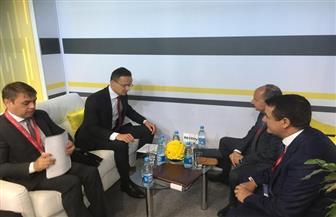مصر تشارك في منتدى سان بطرسبرج الاقتصادي الدولي.. ودعم التعاون المشترك مع المجر 