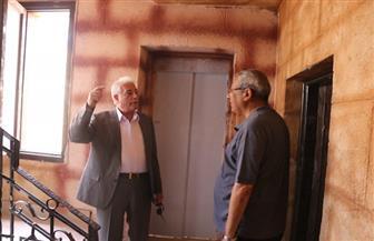 """""""فودة"""" يتفقد أعمال تطوير المركز الثقافي الإسلامي بمسجد الصحابة في شرم الشيخ"""