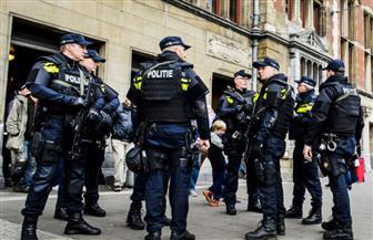 الشرطة الهولندية تفرق احتجاجا على إجراءات مكافحة كورونا في لاهاي