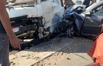 مصرع 3 طلاب وإصابة 4 آخرين فى حادث تصادم على طريق بحيرة قارون