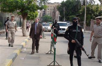 مدير أمن المنوفية يتفقد الخدمات الأمنية بشبين الكوم وقويسنا  صور