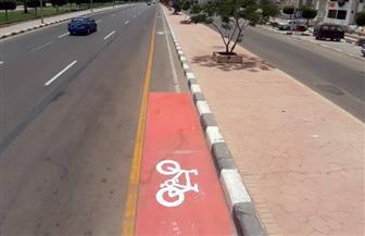 """رئيس """"تنمية مدينة الشروق"""": الانتهاء من أطول مسار للدراجات بطول 10 كم  صور"""