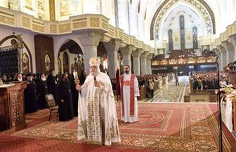 البابا تواضروس يترأس قداس رسامة الأساقفة الجدد بمشاركة 100 من أعضاء المجمع المقدس |صور