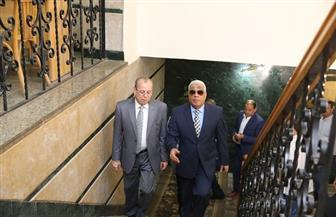 محافظ كفرالشيخ يستقبل مدير الأمن ورئيس جمعية المحاربين القدماء | صور
