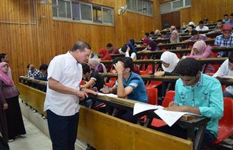 جامعة سوهاج تستأنف امتحانات الفصل الدراسي الثاني | صور