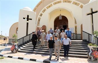 المنوفية تستعد لافتتاح كنيسة السيدة العذراء مريم بالسادات بحضور البابا تواضروس غدا| صور