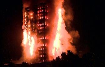 حريق هائل في مجمع سكني بلندن