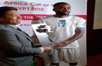 باكامبو أفضل لاعب في مباراة الكونغو وزيمبابوي