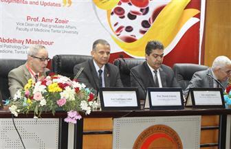 نائب رئيس جامعة طنطا يفتتح اللقاء العلمي للجمعية المصرية لأمراض الدم | صور