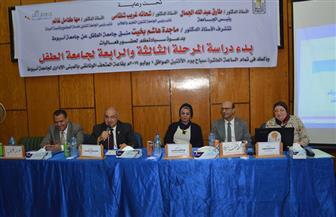 انطلاق فعاليات المرحلتين الثالثة والرابعة لجامعة الطفل في أسيوط   صور