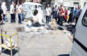 ارتفاع عدد المصابين في انفجار أسطوانة غاز بالإسكندرية إلى 14 شخصا | صور