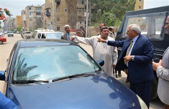 شاروبيم: ضبط الحالة المرورية والنظافة والشارع ملك المواطنين بالدقهلية |  صور