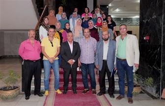 """جامعة طنطا: انطلاق برنامج التبادل الطلابي بزيارة لجامعة """"نزوى"""" بسلطنة عمان   صور"""