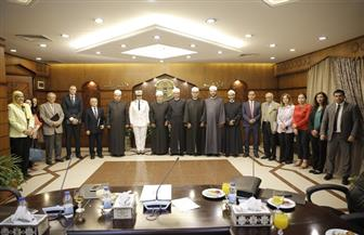 الأزهر يعقد لقاء تشاوريا مع مؤسسات الدولة لبحث سبل التعاون لحل المشاكل الأسرية   صور