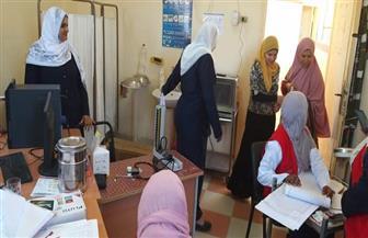 إقبال كبير على مبادرة رئيس الجمهورية للفحص الطبي لدعم صحة المرأة بجنوب سيناء