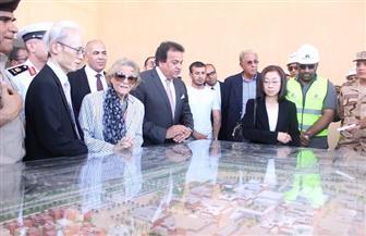 افتتاح منشآت جديدة بالجامعة المصرية اليابانية للعلوم والتكنولوجيا في برج العرب | صور