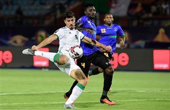 """أمم إفريقيا.. المنتخب الجزائري يسجل """"ثلاثية"""" في شباك تنزانيا"""