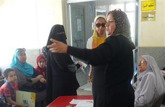 جهاز مدينة دمياط الجديدة يشارك فى مبادرة رئيس الجمهورية للاهتمام بصحة المرأة